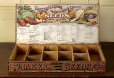 Lot of 7 Old Vintage 1940/'s LONE STAR SEED CO Advertising SIGNS Box Labels