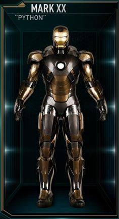 Iron Man Hall of Armors: MARK XX