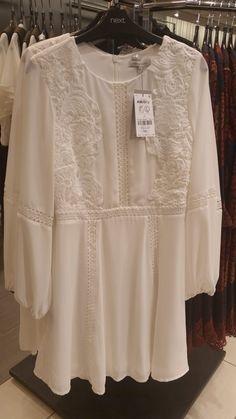 – Women's Dress – Next, Dundrum Dublin, Ruffle Blouse, Women's Fashion, Long Sleeve, Sleeves, Tops, Dresses, Vestidos