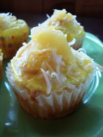 shaken together: {taste this} Pina Colada Cupcakes