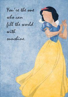 Snow White inspired design.