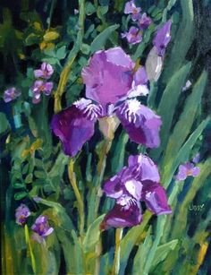 """Daily+Paintworks+-+""""Key++of+Life""""+-+Original+Fine+Art+for+Sale+-+©+Libby+Anderson"""