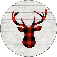 Christmas Decor Buffalo Plaid Deer Plaid Tree Rustic Christmas Wooden... ($55) ❤ liked on Polyvore featuring home, home decor, wall art, home & living, home décor, silver, wall décor, wall hangings, wood tree and wood wall hanging