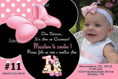 Hey, I found this really awesome Etsy listing at https://www.etsy.com/listing/158676554/baby-minnie-mouse-first-birthday