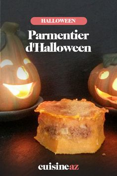 Le parmentier d'Halloween est un plat facile à cuisiner avec de la chair de potiron.  #recette#cuisine#potiron#parmentier #halloween