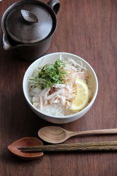 鶏出汁冷やし茶漬け。 by 栁川かおり | レシピサイト「Nadia | ナディア」プロの料理を無料で検索
