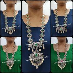 Kundan Jewellery Set, Diamond Jewellery, Bridal Jewellery, Gold Jewelry, Baby Jewelry, Diamond Tops, Diamond Necklace Set, Bridal Bangles, Necklace Designs