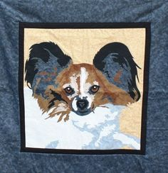 Dog quilt pattern, papillon, by Toni Whitney for A Quilt Lovers Shop (Wisconsin)