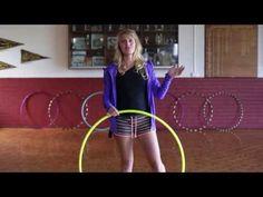 Hula Hoop Tutorial : YO YO BOUNCE ISOLATION : Beginner / Intermediate Hula Hooping Trick