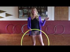 Hula Hoop Tutorial : YO YO BOUNCE ISOLATION : Beginner / Intermediate Hula Hooping Trick
