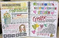 so true art journal inspiration
