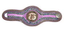 Beaded braided cuff bracelet by Beadsagogo on Etsy, $70.00