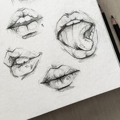 10 Hyper Realistic Drawings - open mouth your mouth sketch girl sketch illustra. - 10 Hyper Realistic Drawings – open mouth your mouth sketch girl sketch illustration sketch inspiration – Pencil Art Drawings, Art Drawings Sketches, Illustration Sketches, Easy Drawings, Drawings Of Lips, Sketch Art, Portrait Sketches, Drawing Portraits, Pencil Sketching