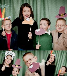 photo booth props-printable, I made these this thanksgiving super fun and kept kiddos busy while I was running around in the kitchen, make ur own or order them for $10