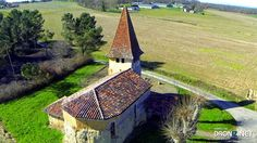 Aerial drone Photo from France by Pachanc : 32110 Magnan, France Aerial Drone, France, Building, Travel, Viajes, Buildings, Trips, Traveling, Tourism