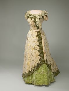Frances Folsom Cleveland (another view of dress)  The Fashionable First Lady