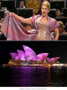 Joyce DiDonato, Queen of the Proms/Sydney Opera House - created via http://pinthemall.net