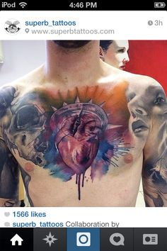 ... chest watercolors ink jason artists ... Andy Biersack Chest Tattoos Andy Biersack Chest Tattoos