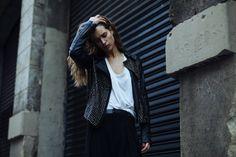 Un petit apercu du shoot de Solenne Jakovsky avec la jolie Lise pour IMG Models Worldwide en total look NUE 19.04