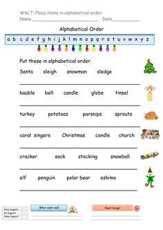 free summer alphabetical order worksheet worksheets activities lesson plans for kids. Black Bedroom Furniture Sets. Home Design Ideas