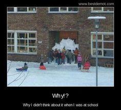 Tenemos que hacerlo!! Lástima que acá no nieva :(  :)