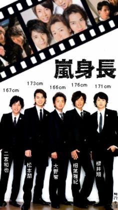 Aiba and Ohno's height difference #Arashi