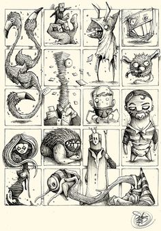 90 best monster drawing images in 2018 Character Drawing, Character Illustration, Character Design, Illustration Art, Illustrations, Monster Sketch, Monster Drawing, Monster Art, Cartoon Drawings