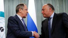 روسيا – مصر تبحثان سبل توحيد المعارضة السورية لإجراء محادثات مع النظام