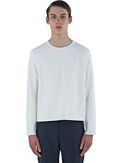 Men's Tops - Clothing | Find more at LN-CC - Heavyweight Buttoned Long Sleeved Top