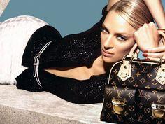Louis Vuitton & Uma Thurman Manhattan PM