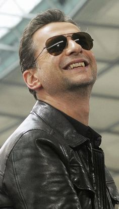 Dave Gahan. After seeing this picture, I'm even more convinced the man is a vampire.