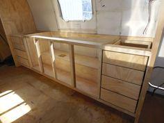 Cabinets over hub