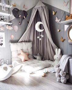 Girl room - 10 Ways to Design a Modern Baby Nursery Baby Bedroom, Baby Room Decor, Nursery Room, Girls Bedroom, Bedroom Decor, Playroom Decor, Nursery Ideas, Wall Decor, Bedroom Lighting
