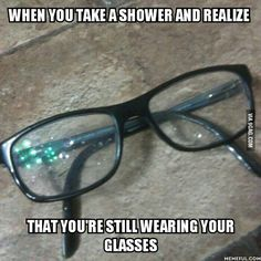 Memes That Are So Me At College It Hurts Memes College And - 20 jokes people wear glasses will truly understand