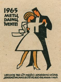 lithuanian matchbox label