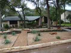We want to xeriscape our front yard...getting some ideas together.