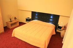 La camera dell'Hotel Auronzo