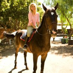 In the Saddle With Kaley Cuoco
