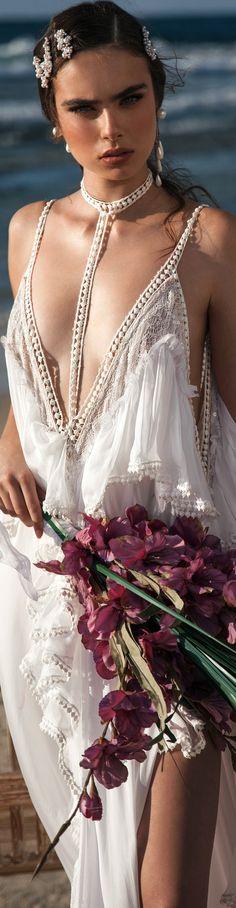 ❤︎ƸӜƷ❥‿✿⁀ ❁❀MC19❁❀ ♥ღ .¸¸.•*¨*•ƸӜƷ Meital Zano Ocean Collection Bridal 2018