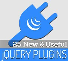 25 New jQuery Plugins for Designers and Developers #jqueryplugins #jquerytutorials #jquerytools