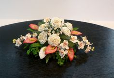 Flower bouquet for a dining table
