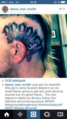 Danny from Hollywood Undead got a head piece for his daughter.