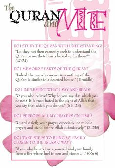 Am I spending my life according to quranic teachings and sunnah??