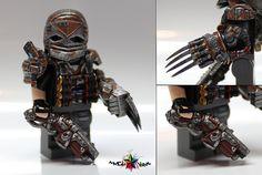 The Grim Reaper Custom Minifigure By McLovin Lego Custom Minifigures, Lego Minifigs, Lego Army, Lego Military, Steampunk Lego, Lego Soldiers, Lego Star Wars Mini, Lego Guns, Lego Pictures