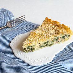 Špenátový pie s ricottou - recept krok 8