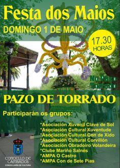 CORES DE CAMBADOS: FESTA DOS MAIOS NO PARQUE DE TORRADO