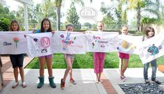 39 Slumber Party Ideas To Help You Throw The Best Sleepover Ever Personalize pillow cases. Slumber Party Crafts, Sleepover Birthday Parties, Pj Party, Craft Party, Neon Party, Slumber Party Favors, Sofia Party, Work Party, Party Gifts
