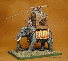 the carthaginian army pics. Hannibal | Carthage War Elephants