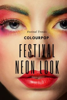 Rock the super fun NEON Makeup trend without going broke! Save a few coins and stay on trend with #Colourpop Festival Collection. Pressed Glitter Eyeshadow Palette, Plumping Lip Gloss, Summer Music Festivals, Latest Makeup, Good Skin, Makeup Looks, Facial, Hair Care, Make Up Looks