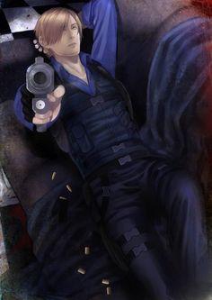 Leon Scott Resident Evil Collection, Resident Evil Anime, Leon S Kennedy, Combat Medic, Jill Valentine, Damian Wayne, Evil Games, Gorgeous Men, Fangirl